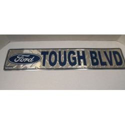 plaque de rue ford tough...