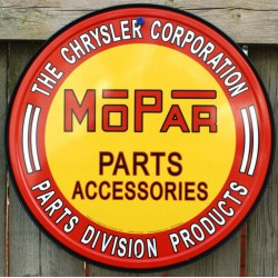 plaque mopar ronde parts &...