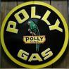 plaque polly gas 60cm tole deco garage affiche perroquet