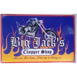plaque big jack choper shop...