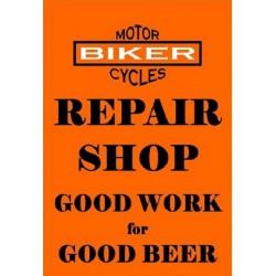 plaque repair shop  moto...