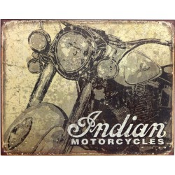 plaque indian motorcycles...
