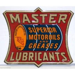 plaque master  motor oil...