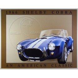 plaque shelby cobra breu...