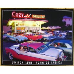plaque diner cozy drive in...