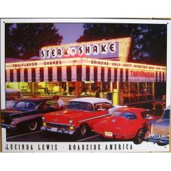 plaque diner steak & shake...