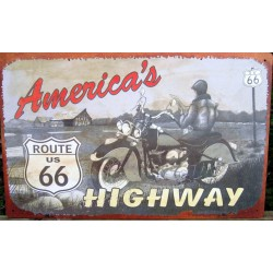plaque americas highway...
