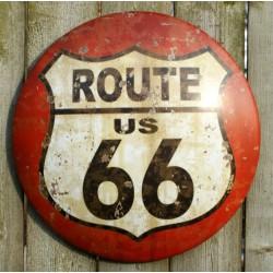 plaque route 66 bombee...