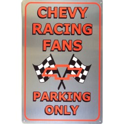 plaque chevrolet racing...