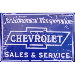 plaque chevrolet sales &...