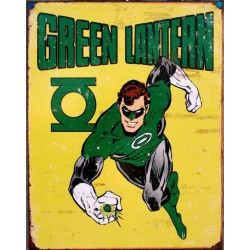 plaque green lantern sur...