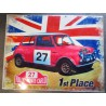 plaque mini austin drapeau anglais 1st place tole pub course