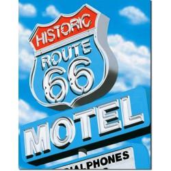 plaque route 66  historic...