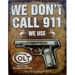 plaque we don't call 911 we...