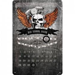 calendrier biker crane...