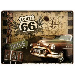 plaque route 66 buick 51...