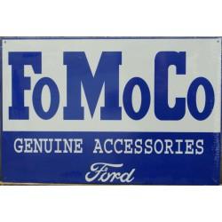 plaque ford fomoco genuine...