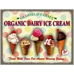 plaque glace organic dairy...
