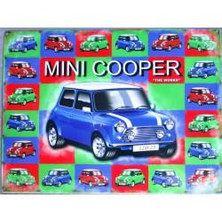 plaque mini cooper austin...