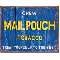 plaque mail pouch tobacco...