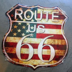 plaque blason style route...