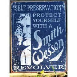 plaque smith & wesson...