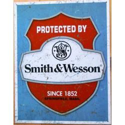 plaque smith & wesson logo...