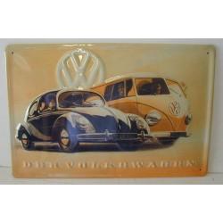 plaque VW cox et combi...