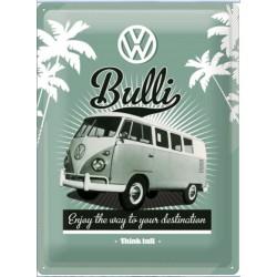plaque VW bus combi bulli...