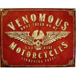 plaque venomous motorcycles...