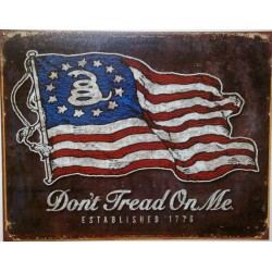 plaque drapeau americain...