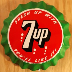 plaque seven up capsule...