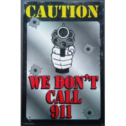 plaque caution we don't...