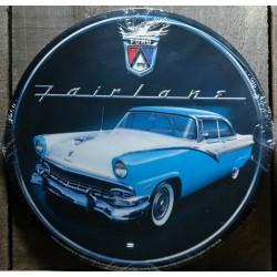 plaque ford fairlaine bleu...