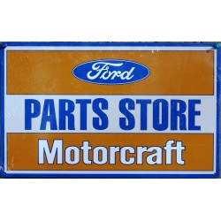 plaque ford parts store...