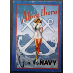 plaque pin up ancre marine...