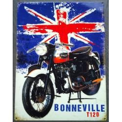 plaque triumph bonneville...