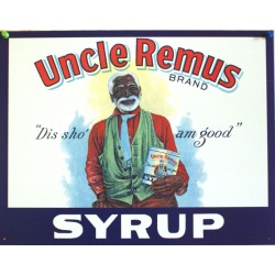 plaque uncle remus syrup...