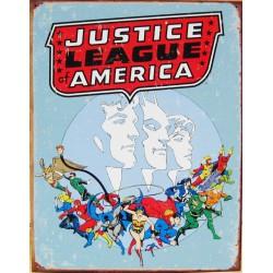 plaque super hero justice...