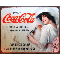 plaque soda  coca cola from...