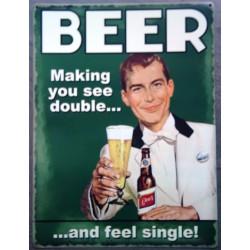 plaque beer humour making...