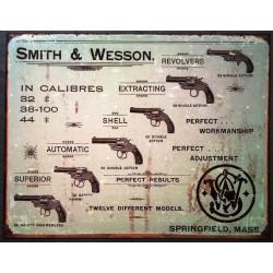 plaque nombreux pistolet...