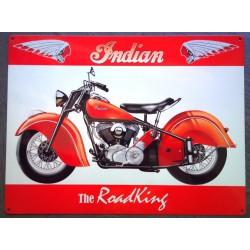 plaque indian rouge et...
