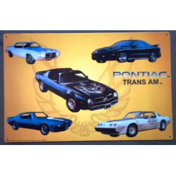 plaque pontiac trans am...