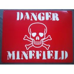 plaque danger mines !...