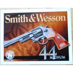 plaque smith & wesson 44...