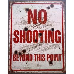 plaque no shooting beyong...