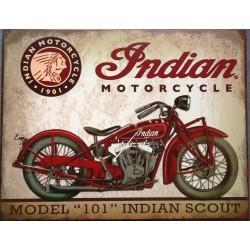 plaque indian scout 101...