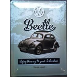 plaque beetle VW coccinelle...