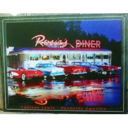plaque rosie's diner...